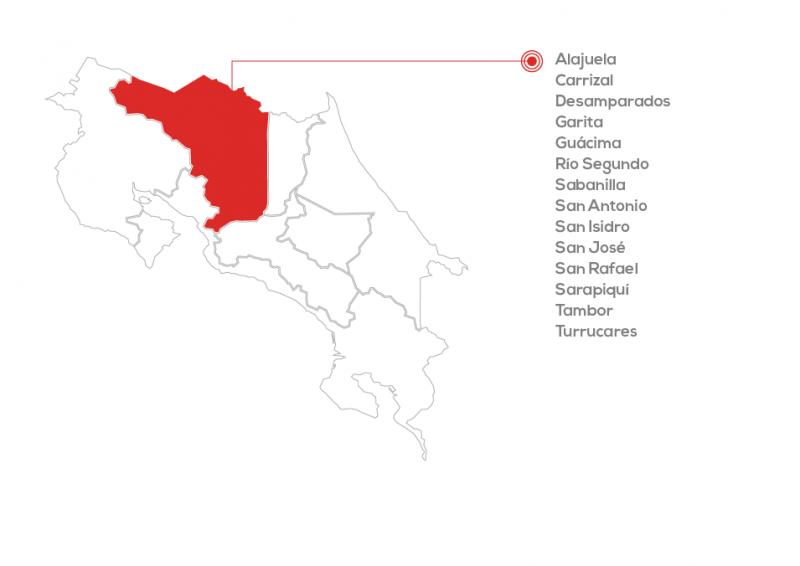 mapas cobertura pymes-alajuela